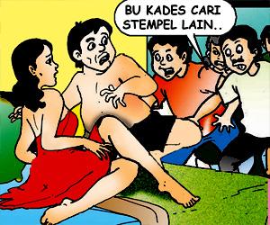 Cemilan ibu Kades