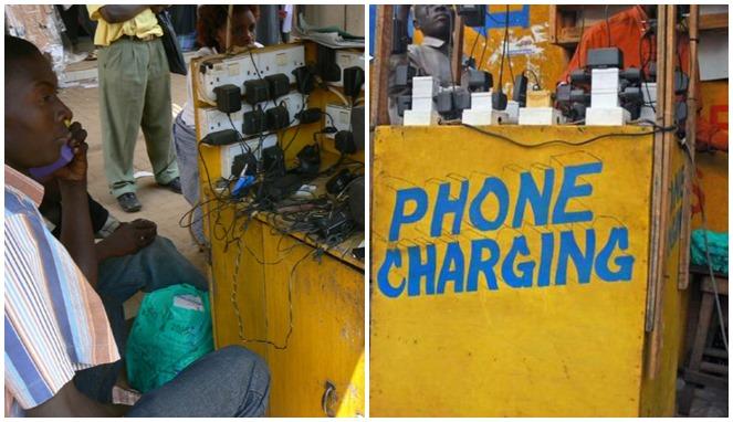 Begini Isi Daya Ponsel di Derah Terpencil Afrika