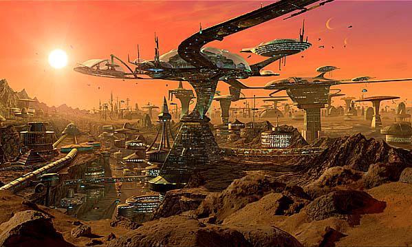Membuat Kota Pertama Di Mars Ini Yang Dibutuhkan