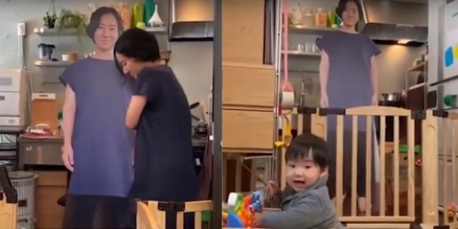Cara Unik Pasangan Jepang Tenangkan Anak