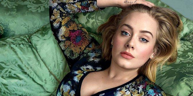 Adele Berubah Jadi Langsing Hingga Susah Dikenali
