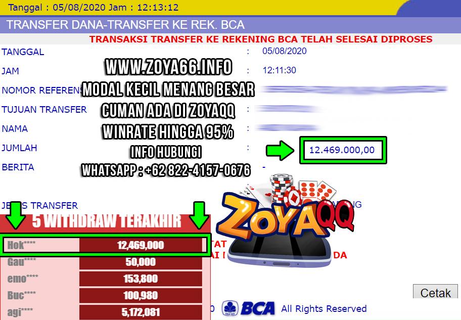ZoyaQQ Promo Kemenangan Dibulan Agustus