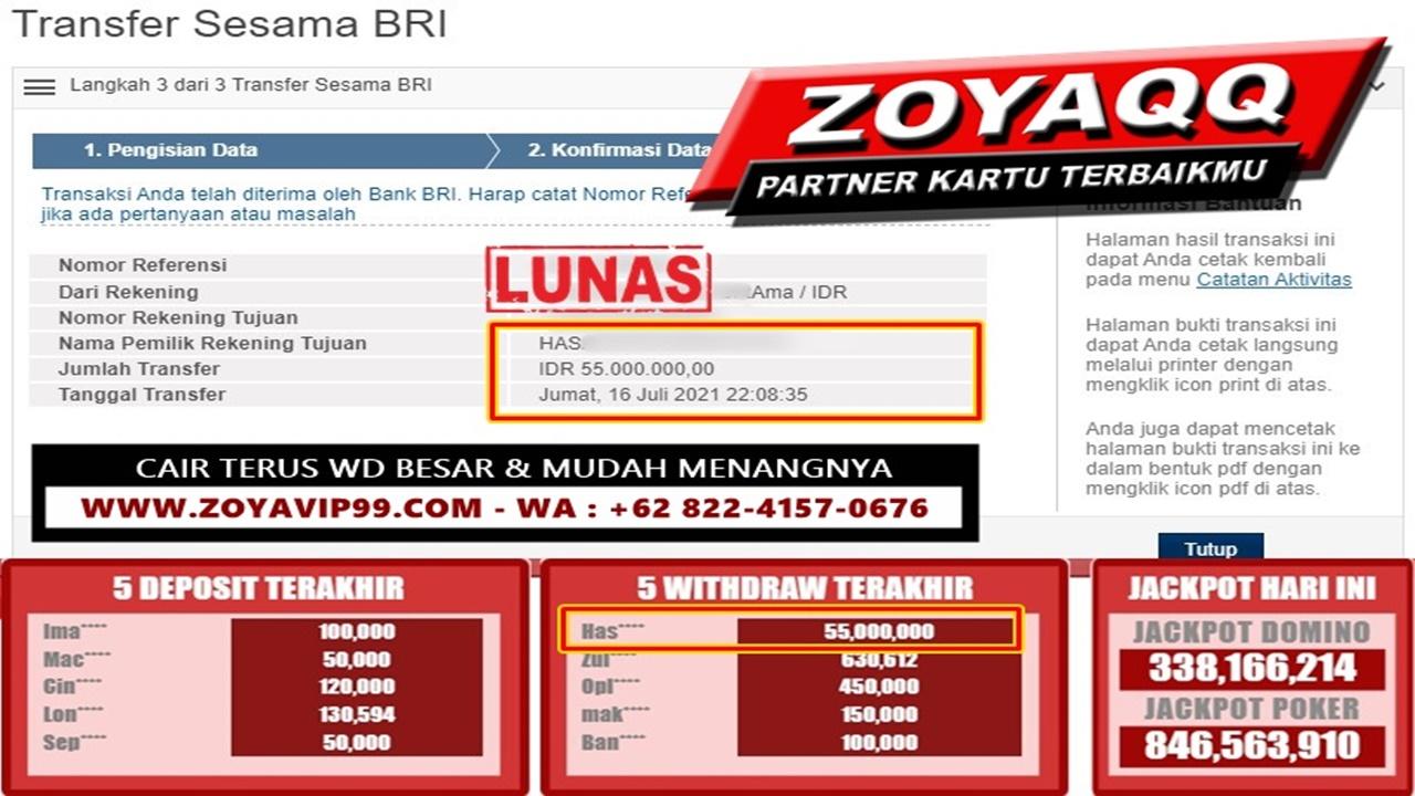 Exclusive Hoki WD Besar Akurat Hanya Di Meja Ganjil!