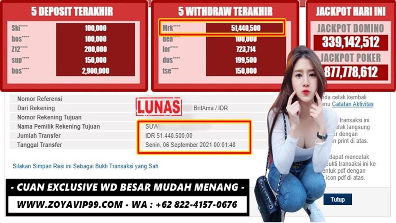 Gampang Cuan Hoki WD Exclusive Meja Genapnya!