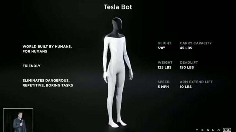 Unik Tesla Bot, Robot Terbaru Dari Tesla
